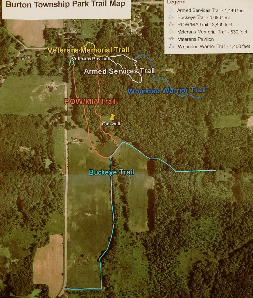 Burton Township Park Trail Map